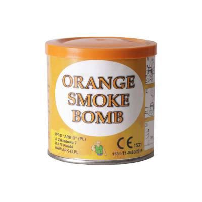 świeca dymna ark-o pomarańczowa
