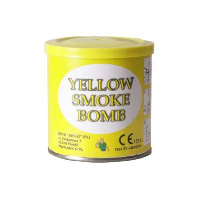 świeca dymna ark-o żółta