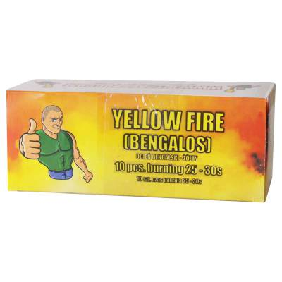 Ogień wrocławski ARK-O Żółty