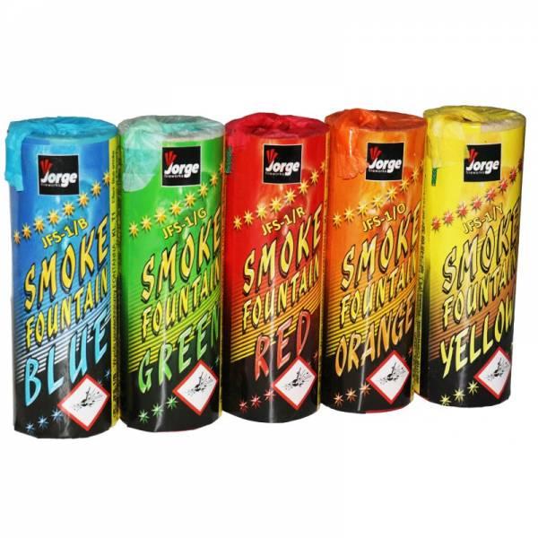 kolorowe dymy